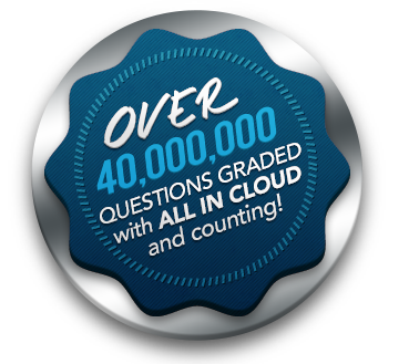 PRESS RELEASE: Forty Million Questions Delivered Using the ALL In Learning Cloud Powered Platform for Data Driven Instruction!